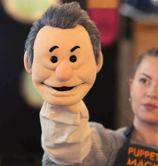 puppet in our workshop