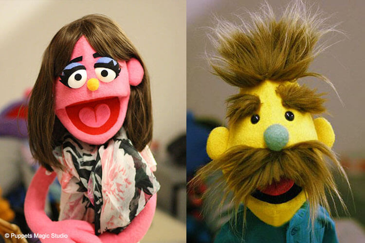 muppet style puppets