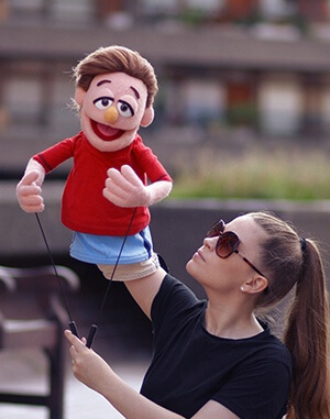 muppet style puppet